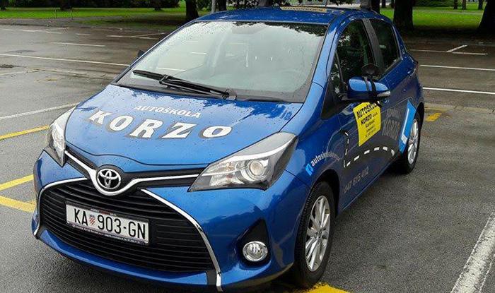 Vozila autoškole Korzo - Toyota